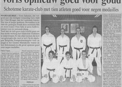 1996 - Voris opnieuw goed voor goud